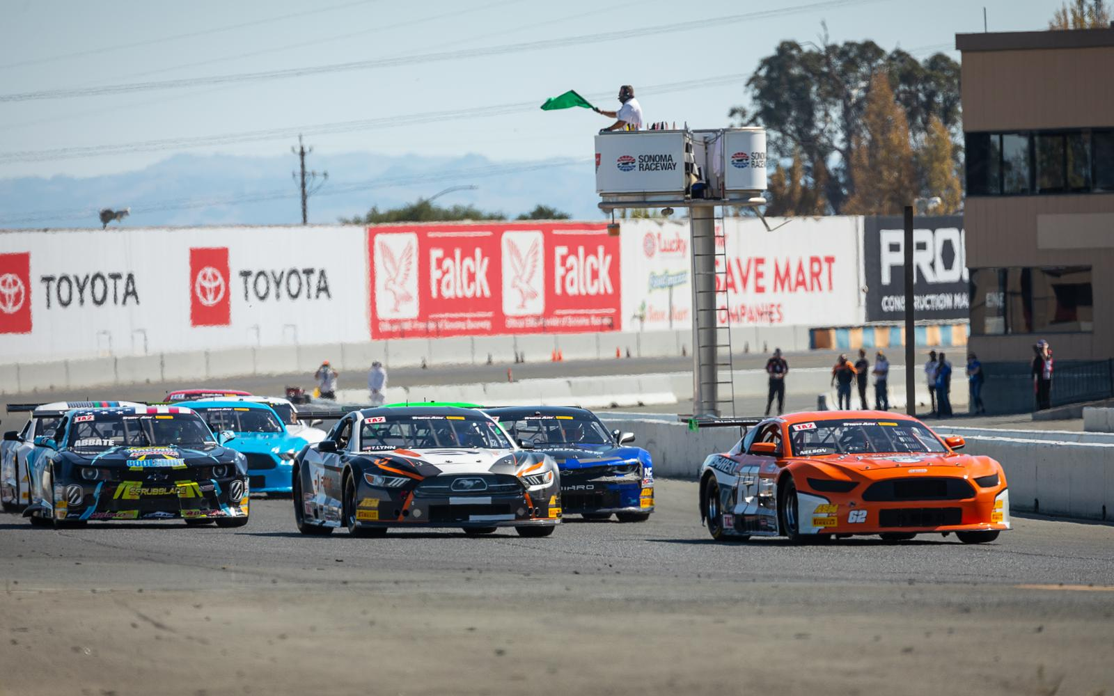 Pickett Back on Top at Sonoma in Trans Am West Coast Double Header
